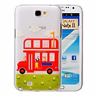 Animal Bus PC Brushed Case for Samsung Galaxy Note 2 N7100