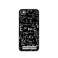 Personalized Phone Case - Formula Design Metal Case for iPhone 5/5S