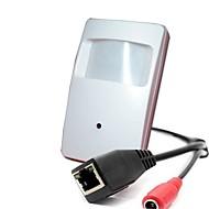 cámara oculta ip con 1,0 megapíxeles detector de movimiento 720p cámara estilo cámara estenopeica ip oculta cámara oculta
