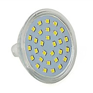 Focos LED Decorativa JUXIANG MR16 5W 30 SMD 2835 350 LM Blanco Fresco AC 100-240 V