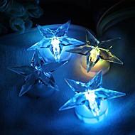 la décoration peut coller étoiles lumière de nuit conduit
