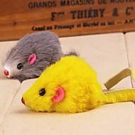 사랑스러운 마우스는 애완 동물 개 고양이 (임의의 색상)에 대한 봉제 씹어 장난감 모양의