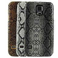 skóra węża wzornictwo twarde etui do Samsung Galaxy S5 i9600