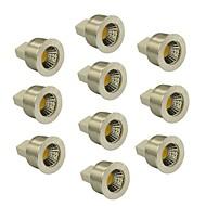 3W GU5.3(MR16) LED-spotlampen MR11 1 COB 240 lm Warm wit / Koel wit Dimbaar DC 12 V 10 stuks