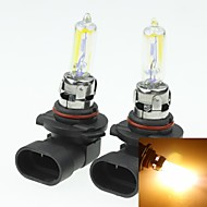 2x9005 HB3 P20D  100W Plated Yellow for Car Headlights Headlights Fog Lights 12V