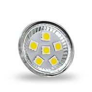 4w gu4 (mr11) led spotlight mr11 6 smd 5050 350 lm serin beyaz dekoratif dc 12 v