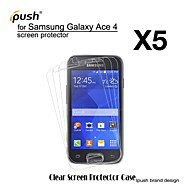 High Transparency HD LCD Screen Protector for Samsung Galaxy Ace 4 G313H (5 Pieces)