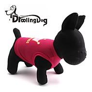 DroolingDog® Lovely Princess Crown Pattern Terylene Vest for Dogs (Pink/Rose  XS-L)