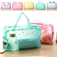 "Travel BagForTravel Storage Plastic 9.25""*6.9""*3.15""(23.5cm*17.5cm*8cm)"
