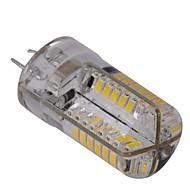 Lâmpada Espiga Regulável G4 4 W 400 LM 2800-3200 K Branco Quente 80 SMD 3014 AC 220-240 V