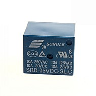 5v dc songle Tehorele SRD-5V-sl-c (2kpl)