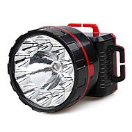 JiaGe YD-3313 Single-mode 10xCree Rechargeable Headlamp(Black)
