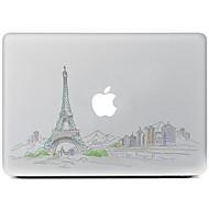 la conception de la ville décorative autocollant pour MacBook Air / Pro / Pro avec affichage de la rétine