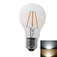 4W E26/E27 LED-pallolamput 1 COB 550 lm Lämmin valkoinen / Kylmä valkoinen AC 220-240 V 2 kpl