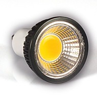 GU10 LED Spotlight MR16 / PAR38 1 COB 350-400 lm Cool White Dimmable AC 110-130 V