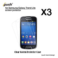 High Transparency HD LCD Screen Protector for Samsung Galaxy Trend Lite S7390 (3 Pieces)
