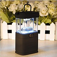 LS045 11 LED Lantern Lights Lamp for Camping Fishing Reading(3XAA Black)