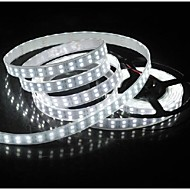 Waterproof 5M 144W 600*5050 SMD 9600LM Cool /Warm White Double Casing Underwater Light LED Strip Lamp (DC12V)