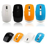 Mini 2.4G Wireless Optical Mouse 1000/1200/1600DPI 6 Keys (Assorted Colors)