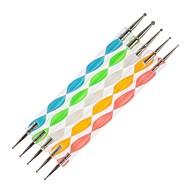 5PCS 2-Way Nail Art Dotting Tools