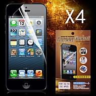 아이폰 5 / 5S에 대한 보호의 HD 화면 보호기 (4 개)