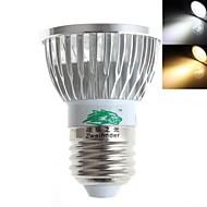 3W E26/E27 Focos LED MR16 3 LED de Alta Potencia 280 lm Blanco Cálido / Blanco Fresco Decorativa AC 85-265 V