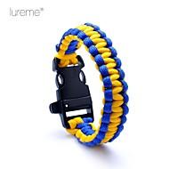 Survival Whistle / Survival Bracelet Survival / Whistle Hiking Nylon Other - Lureme