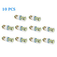 10 pcs E26/E27 12 W 27 SMD 5050 1050 LM Warm White/Cool White Corn Bulbs AC 85-265 V