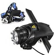 ls117 del Cree T6 LED 3-mode stradale 1800 lumen faro per bicicletta kit fari (batterie e caricabatterie sono incluse)