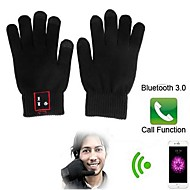 Fingertip Touch Screen Bluetooth Gloves with Hands Free Calls for iPhone 6/6 Plus/5/5S and Others