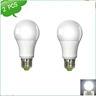 Ampoules Globe Blanc Chaud/Blanc Froid DUXLITE 2 pièces A E26/E27 12 W 1 COB 1160 LM AC 100-240 V
