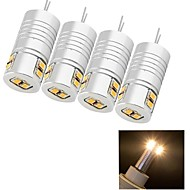 youoklight®  4PCS G4 4W 8*SMD3020 170LM Warm/Cool White  Corn Bulbs (AC/DC12V)