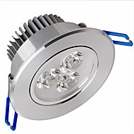 6W Luces de Techo / Luces de Panel Luces Empotradas 3 SMD 2835 500-550 lm Blanco Cálido Regulable AC 100-240 V