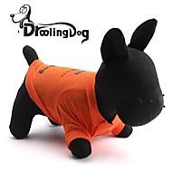 DroolingDog® Cool Hug The Dog Pattern 100% Cotton Vest for Pets Dogs (Oraneg Assorted Sizes)