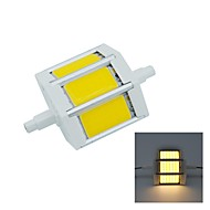 R7S 5 W COB 450 LM Warm White Recessed Retrofit Decorative Flood Lights AC 85-265 V