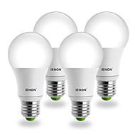 E26/E27 LEDボール型電球 G60 COB 560-630 lm クールホワイト AC 100-240 V 4個