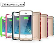 iFans ® MFI 3100mAh Lightning Connector Power Bank Backup Case with Stand for iPhone 6 (5V 500mA,Assorted Colors)