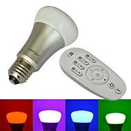 jiawen® 8w 10x3535smd 2,4 sävyn johti rgb älykäs lamppu valo (1kpl värisävy älykäs lamppu + 1RF kaukosäädin (ei akkua))