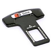 de metal universal de la hebilla del cinturón del asiento de seguridad para automóvil