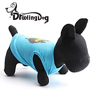 DroolingDog® Cool Australia Map Pattern 100% Cotton Vest for Pets Dogs (Assorted Sizes)