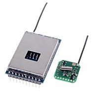 2.4G 600m wayarles pemancar av modul + 2.4G video av penerima ditetapkan untuk FPV