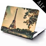 Париж Эйфелева башня для всего тела защитный пластиковый корпус для 11-дюймового / 13-дюймовым новый Mac Book воздуха
