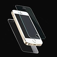 2.5D Front and Back Premium Tempered Glass Screen Protective Film for iPhone 5/5S(0.26mm)