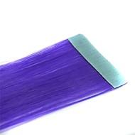 hosszú egyenes szalagok szintetikus hosszabbító 2 db lila