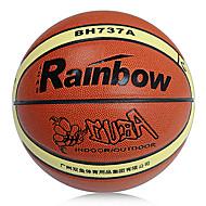 arco-íris interior de couro resistente ao ar livre pu abrasão alta resistência ao desgaste e basquete durável
