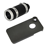 Telescope 8X Zoom Telephoto Long Focal Camera Lens with Case for iPhone 6