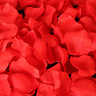 kleurrijke zijde bloemblaadje, 100pcs / bag