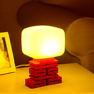 1W LED Voice Control Small Night Table Lamp 110V-220V(Assorted Colors)