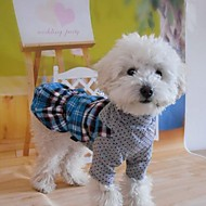 Pet  Lattice Dress  for Pets Dogs(Assorted Sizes)