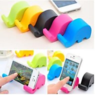 Silicone Material Phone Small Stent Design for iPhone and Others (Assorted Colors)